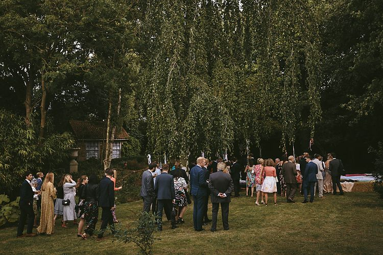 Outdoor Ceremony & DIY Rustic Barn Wedding At The Brides Parents Home   Nigel John Photography