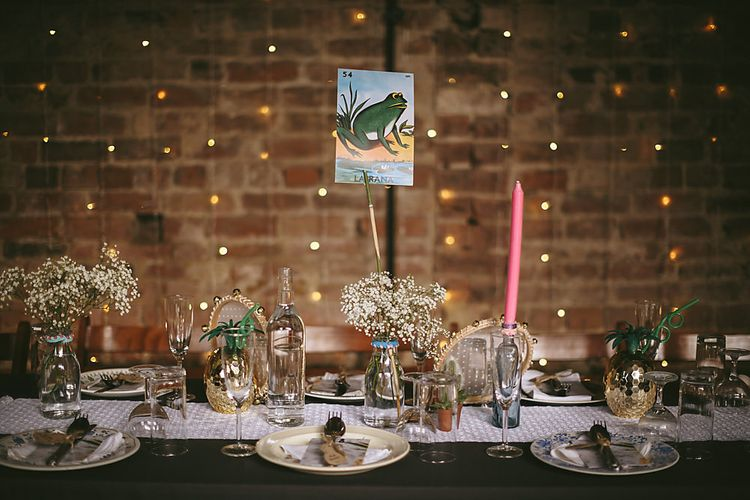 Table Decor   Outdoor Ceremony & DIY Rustic Barn Wedding At The Brides Parents Home   Nigel John Photography