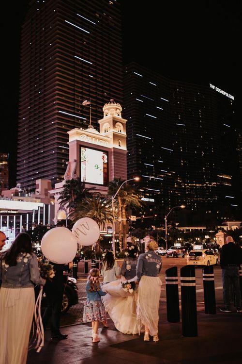 Las Vegas wedding at The Cosmopolitan
