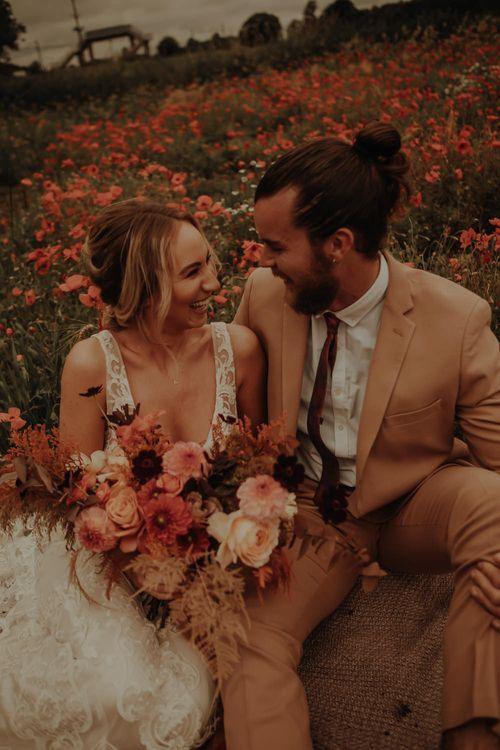 Intimate wedding portrait by Esme Whiteside Photography