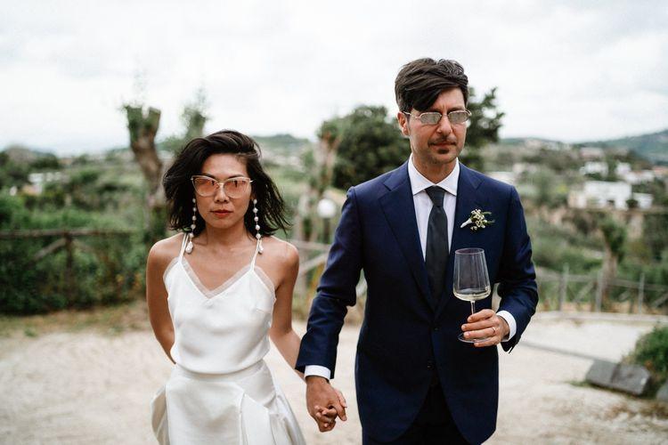 新娘新娘和新娘结婚的万圣节
