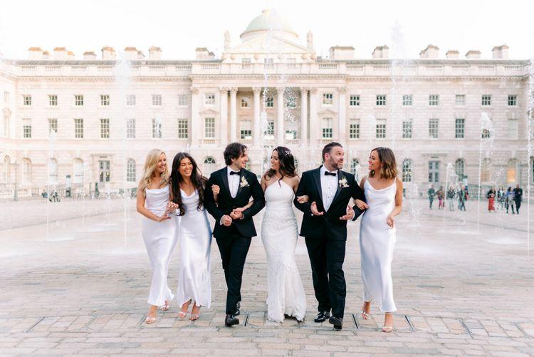 在婚礼上的别墅和别墅的活动和婚礼