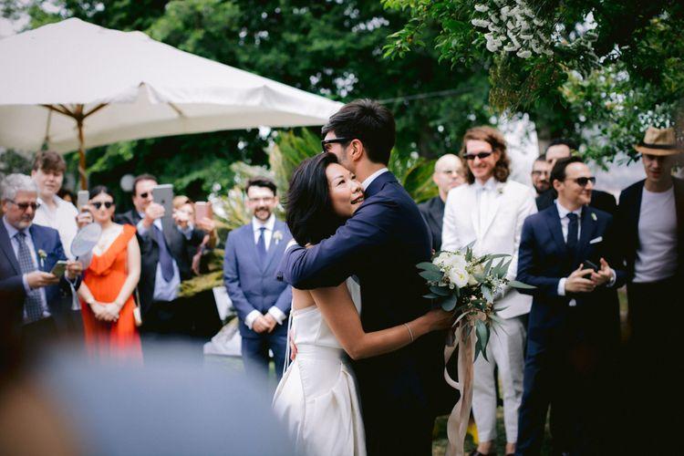 新郎和新娘婚礼仪式