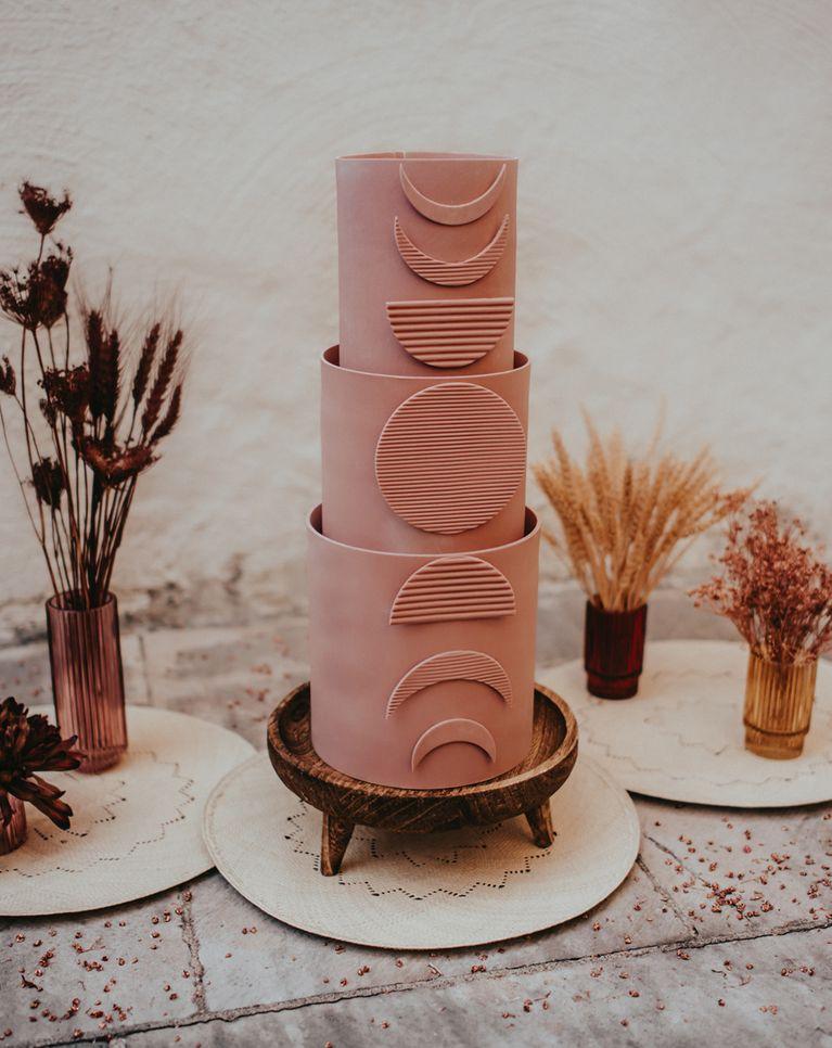 Moon Wedding Cake 1