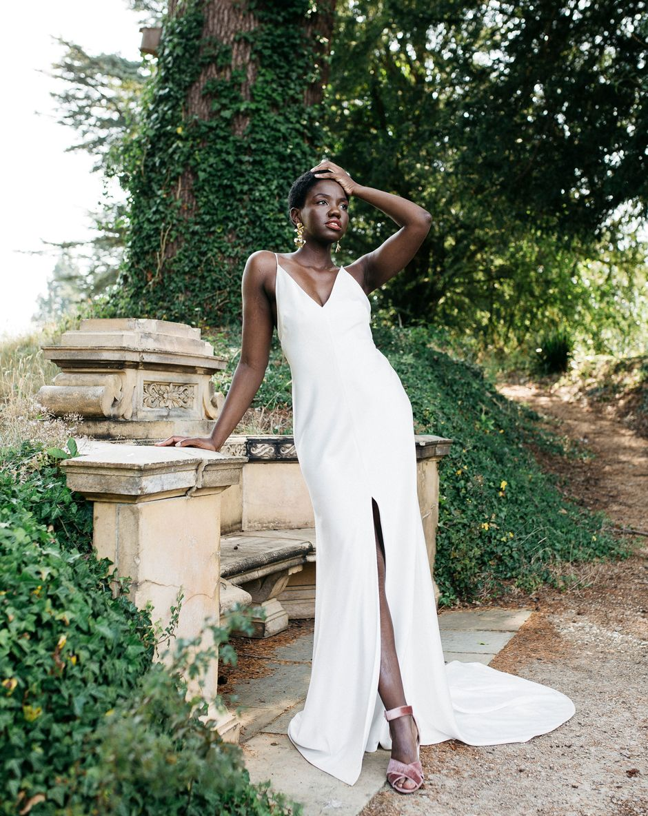 Unique wedding dresses and accessories by Halo & Wren