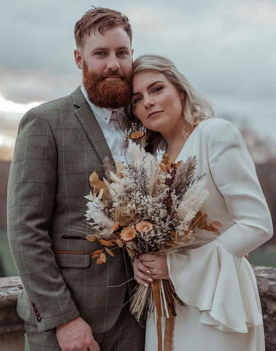 ghost wedding dress