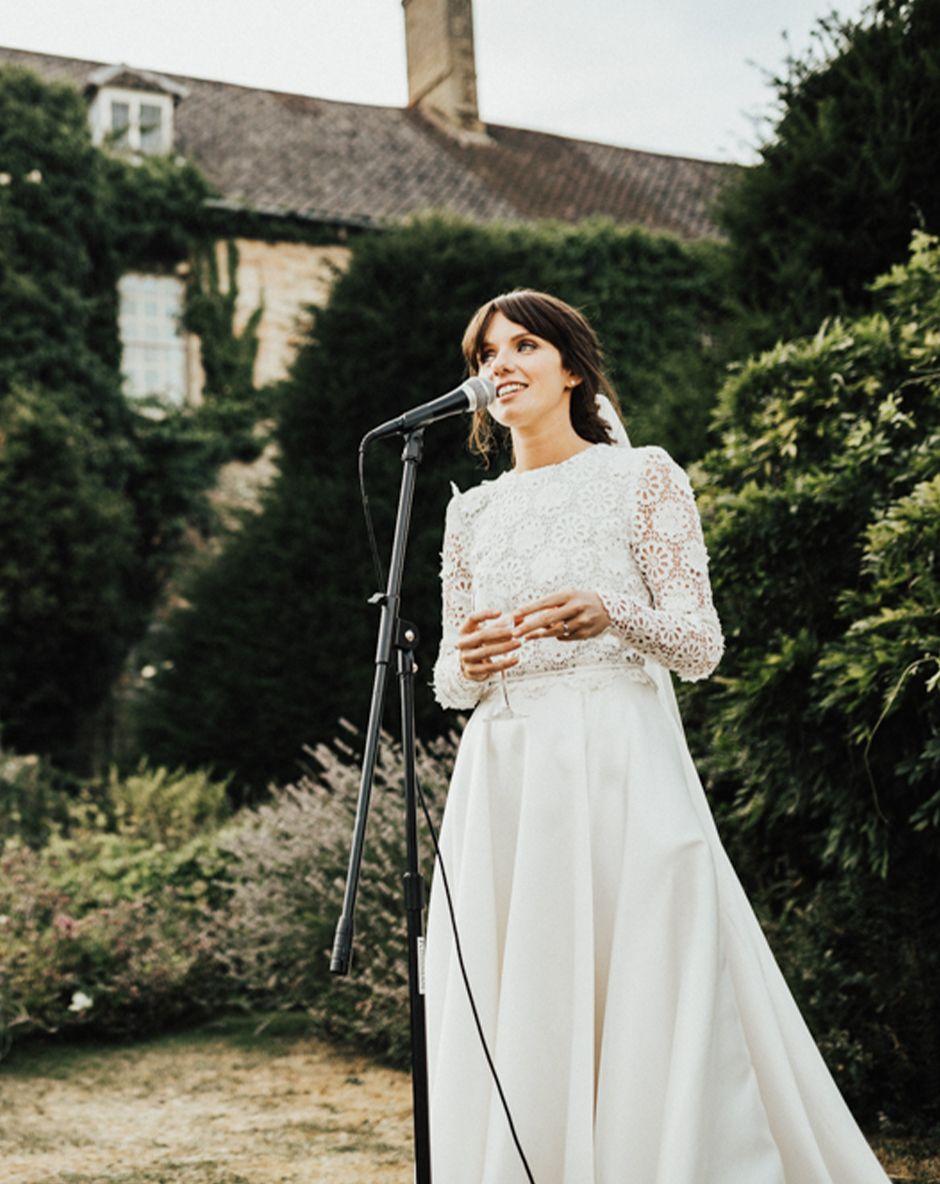 新娘的演讲